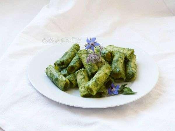 pasta rigatoni alla crema di borragine ricette pasta