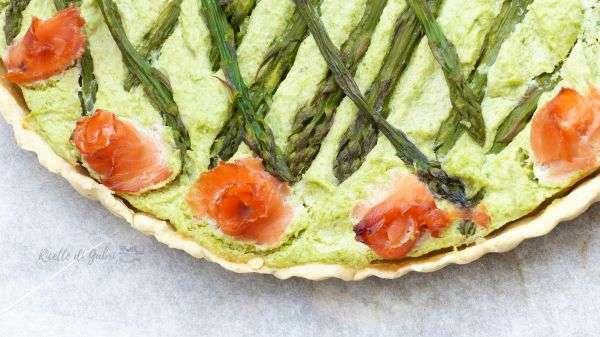 torta asparagi e salmone ricette facili e veloci antipasti torta rustica