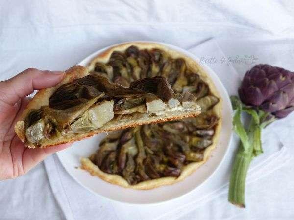 torta salata con patate e carciofi facile e veloce gabri