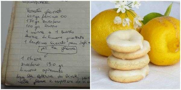 taralli glassati ciambelline al limone glassate