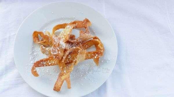 crepes fritte dolce al piatto facile e veloce
