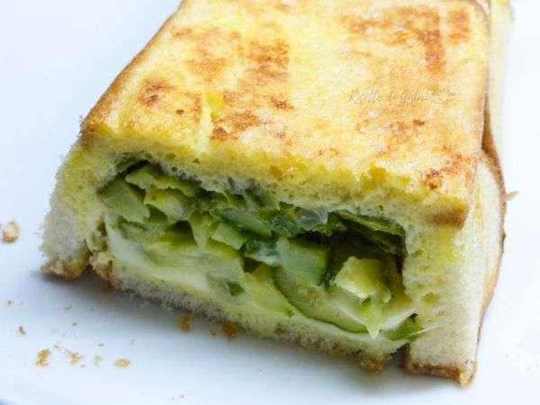 torta di pancarrè e zucchine ricetta facile