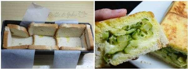 torta pancarrè toast facile cake pancarrè