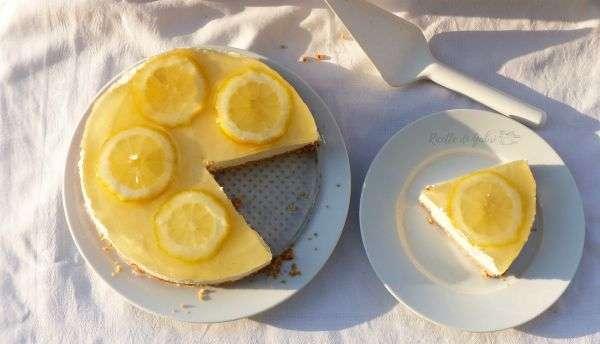 cheesecake al limone senza cottura limone e ricotta torta fredda