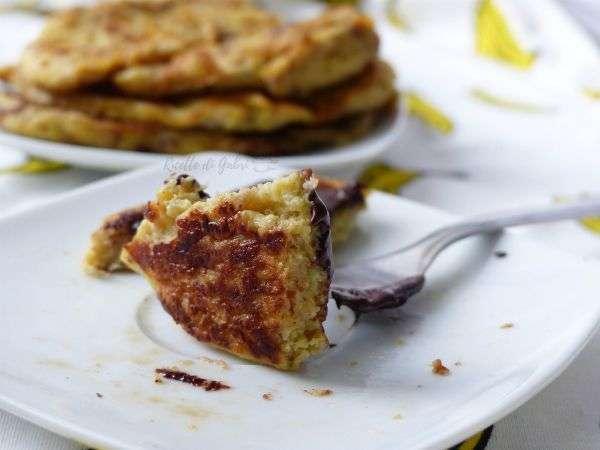 pancakes alla banana furbi e light solo due ingredienti