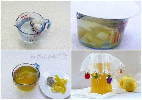 ricetta tè freddo fatto in casa