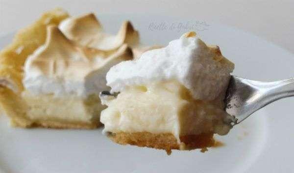 torta con crema al limone crostata facile