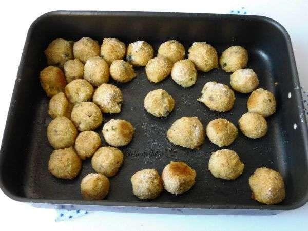 polpette crocchette patate e cozze antipasto