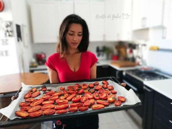 pomodori arrosto ricette di gabri contorno veloce estivo