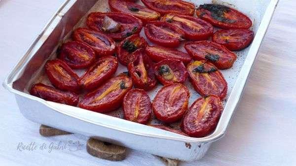 pomodori san marzano arrosto in forno
