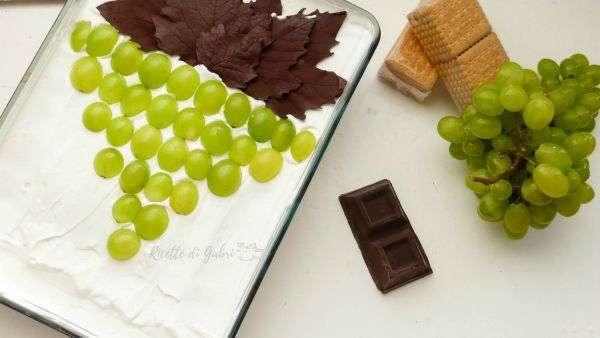 torta all uva bianca ricetta senza cottura torta fredda con uva
