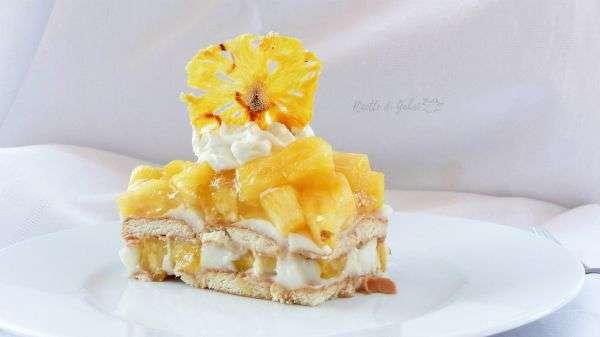 torta fredda all'ananas senza cottura ricetta facile