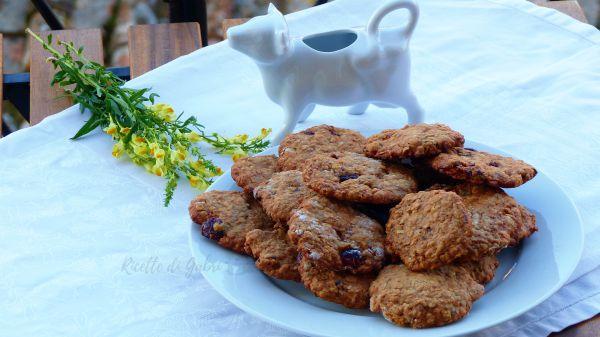 Biscotti ai fiocchi d'avena senza uova