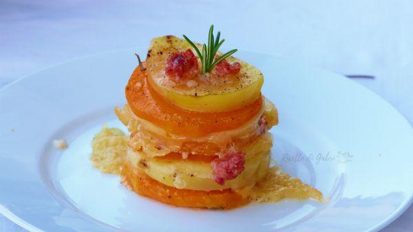 Parmigiana di zucca veloce ricette di gabri zucca lunga millefoglie