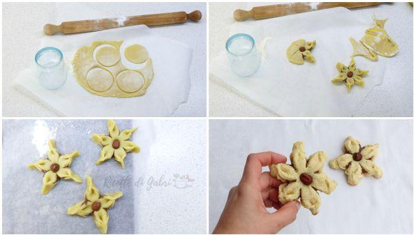 biscotti frolla all'olio e nutella