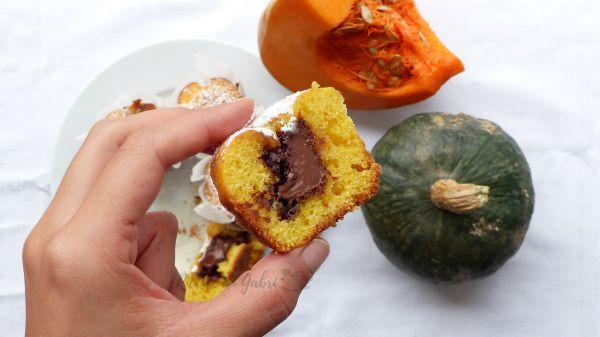 muffins zucca e nutella ricetta facile torta alla zucca dolce