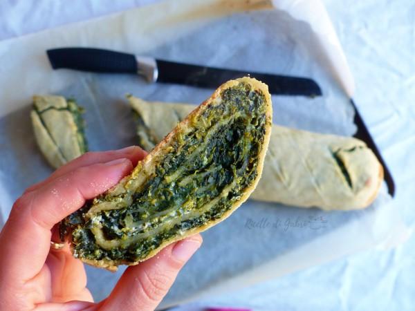 strudel salato ricotta spinaci senza grassi