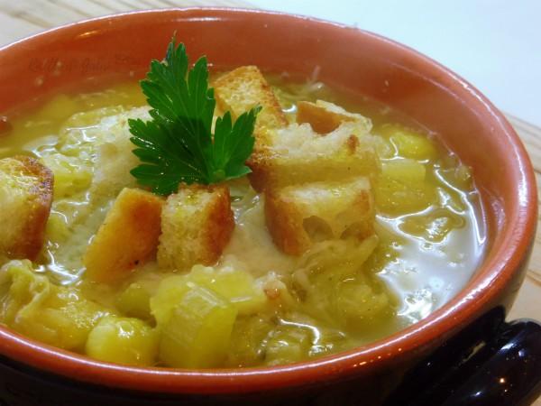 zuppa versa e patate veloce