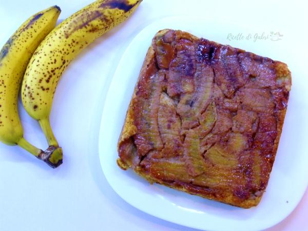 Torta di banane senza burro e solo 1 uovo