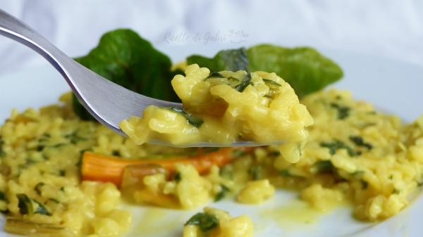 risotto bieta bietole gialle ricetta facile e veloce