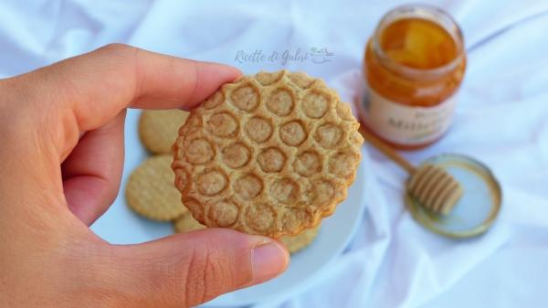 biscotti miele alveare ricetta frollini miele