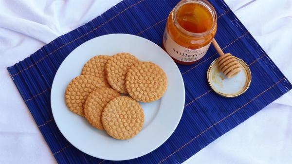 biscotti schiacciapatate al miele