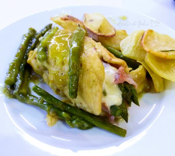 involtini di pollo e asparagi al forno cremoso ricetta facile e veloce salvacena