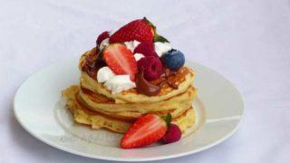 pancakes soffici con nutella