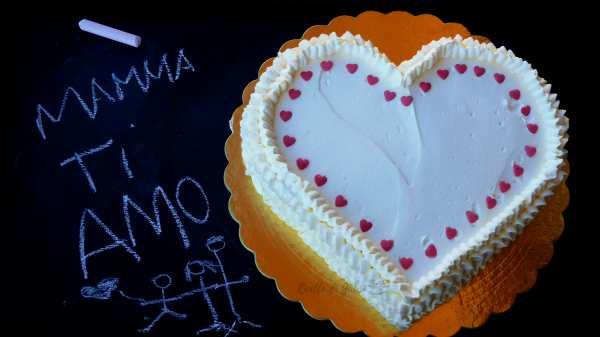 Torta Cuore di Mamma Nutella