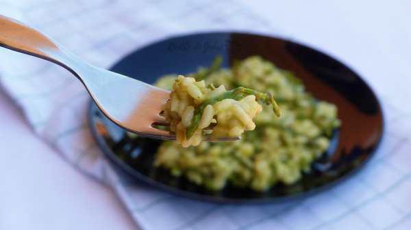 risotto agli asparagi cremoso facile veloce