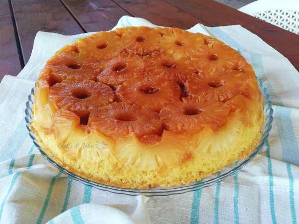 torta con ananas sciroppato facile soffice veloce
