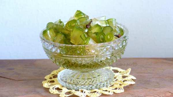 dolce della nonna, papaya verde candita sciroppata ricetta facile papaya