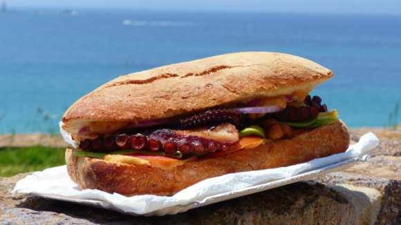 panino con polpo grigliato morbido ricette polpo fresco tenero