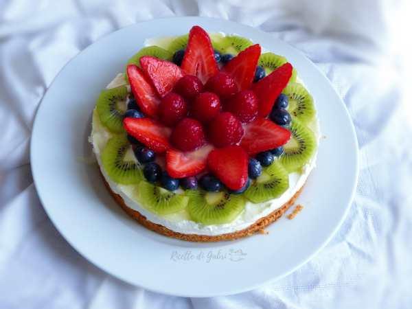 torta fredda allo yogurt senza cottura ricetta facile