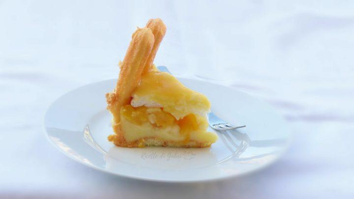 torta fredda alle pesche senza cottura ricetta facile e veloce con savoiardi