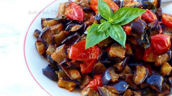 melanzane a funghetto al forno ricetta facile e veloce