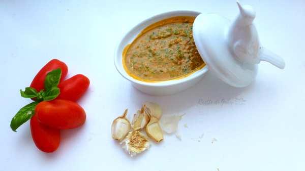 pesto di pomodori alla siciliana ricetta facile e veloce pasta fredda