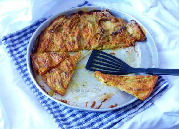 pizza con fiori di zucca in pastella, al forno o in padella ricetta romana facile e veloce