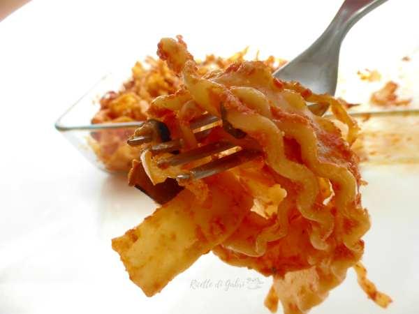 pasta reginette al forno ricetta facile veloce