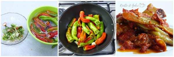 come cucinare i friggitelli al sugo con tonno, ricetta facile peperoncini verdi