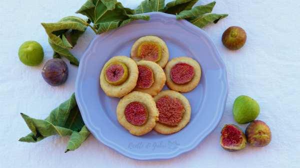 ricetta biscotti con fichi freschi senza burro fatti in casa