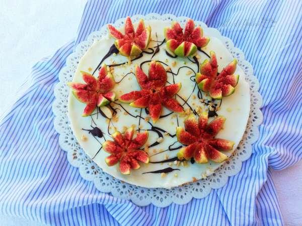 torta di fichi freschi crostata facile crema al latte e fichi torta fichissima