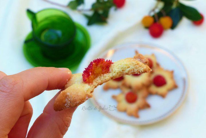 ricette con corbezzolo biscottini da te con pasta frolla facile e veloce