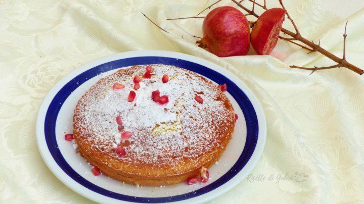 torta al melograno ricetta facile veloce di gabri