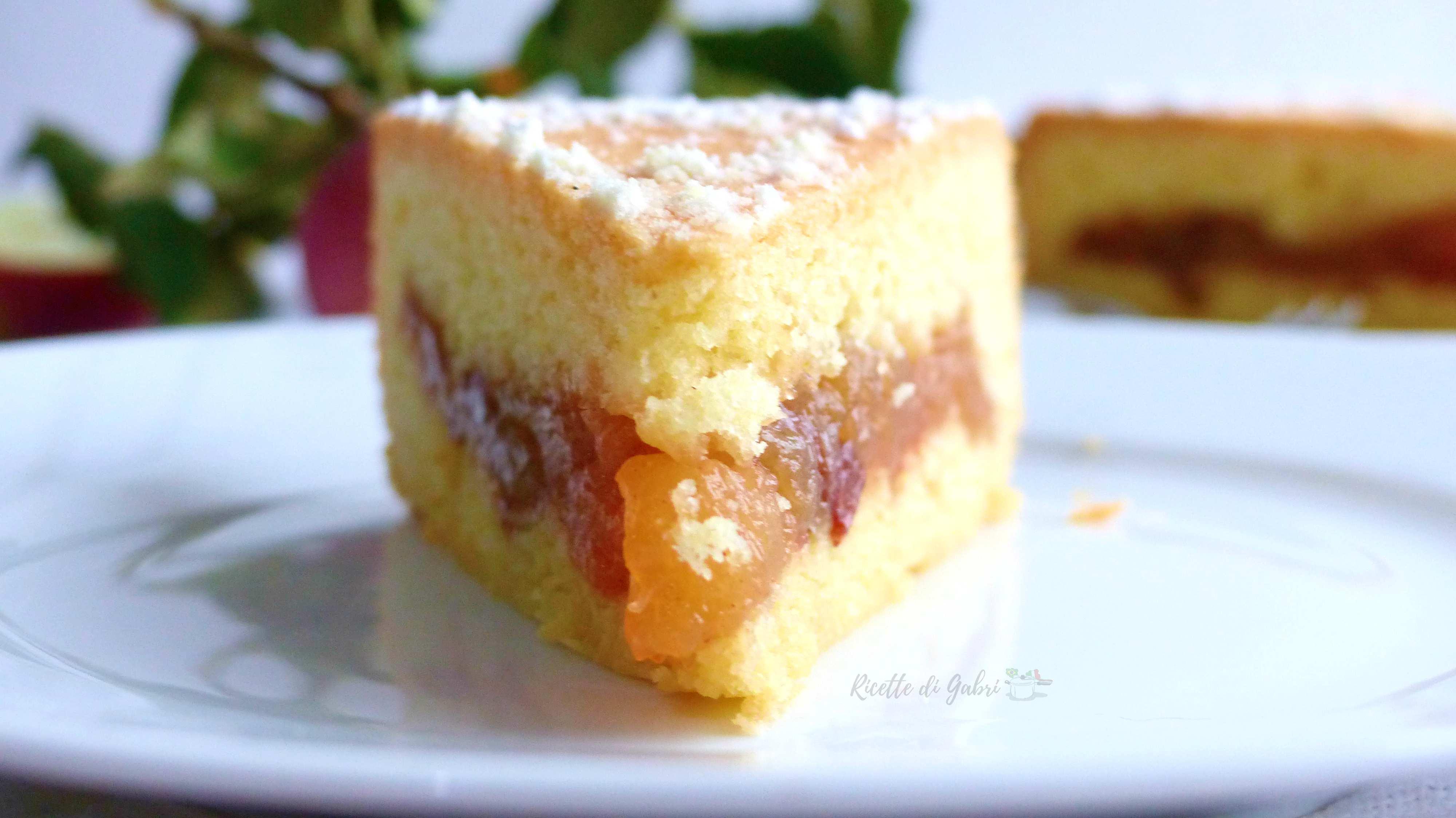 torta delizia alle mele cuor di mela crostata di mele facile veloce con pasta frolla morbida
