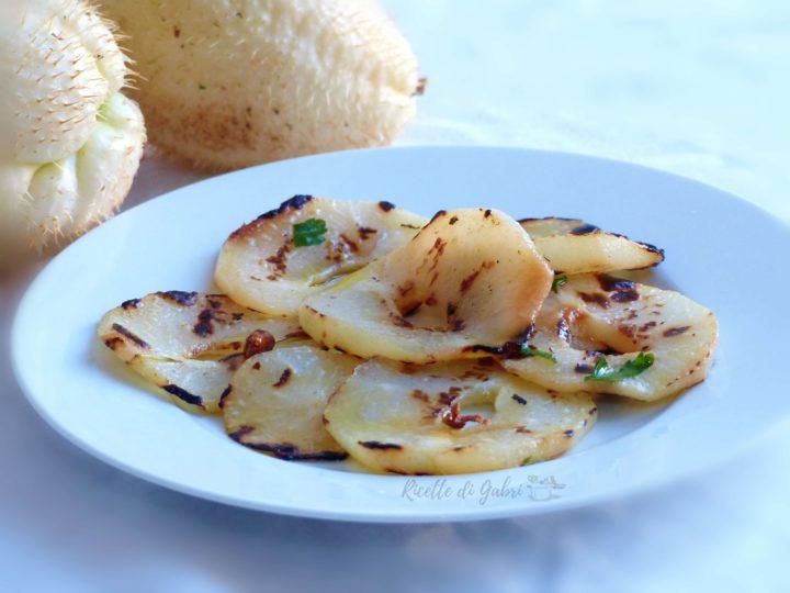 come cucinare le zucchine spinose in padella agrodolce