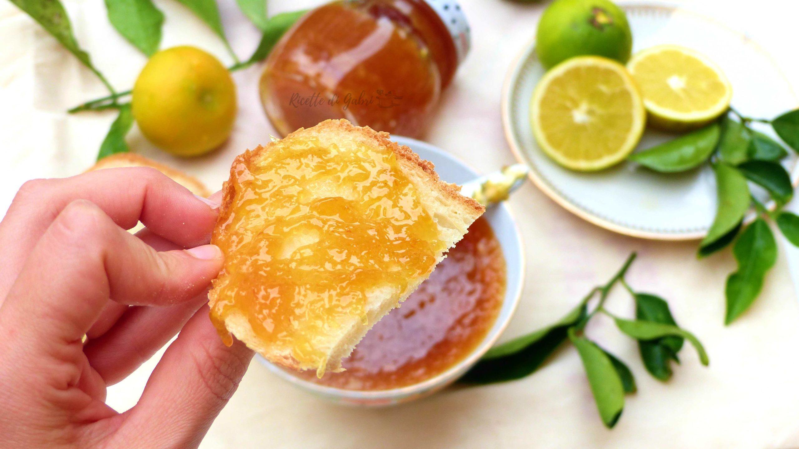 ricetta marmellata di mapo fatta in casa come fare facile veloce arance limoni mandarino
