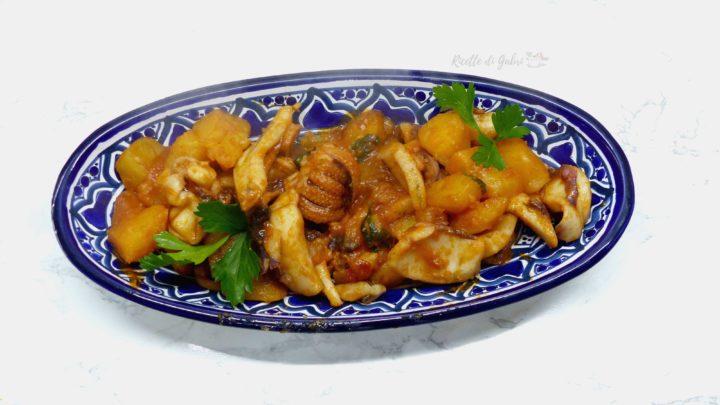 seppie con patate in padella ricetta veloce secondo salvacena ricette di gabri