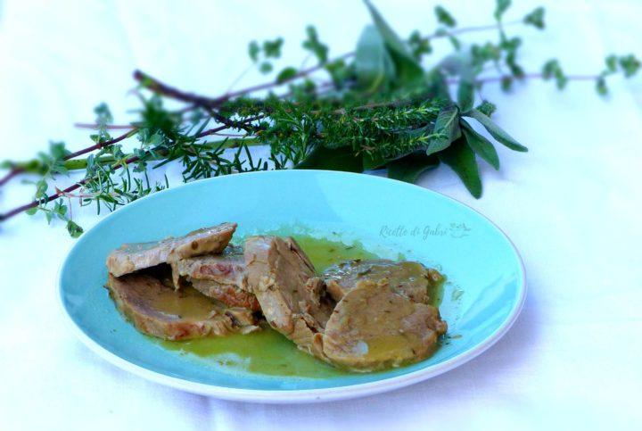 arrosto di filetto di maiale alle erbe ricetta facile leggera brasato morbidissimo ricette di gabri