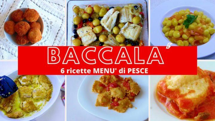 menu d i pesce vigilia di natale ricette con il baccalà facili e veloci